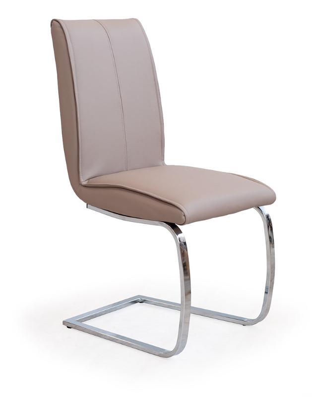 Kovová stolička K177 Halmar béžová