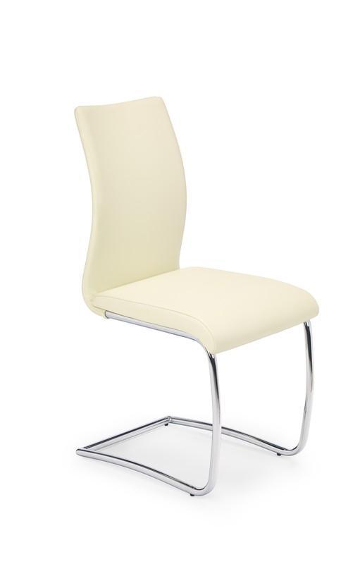 Kovová stolička K180 Halmar béžová