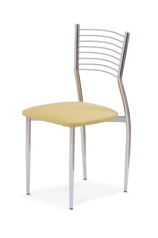 Halmar Kovová stolička K9 béžová