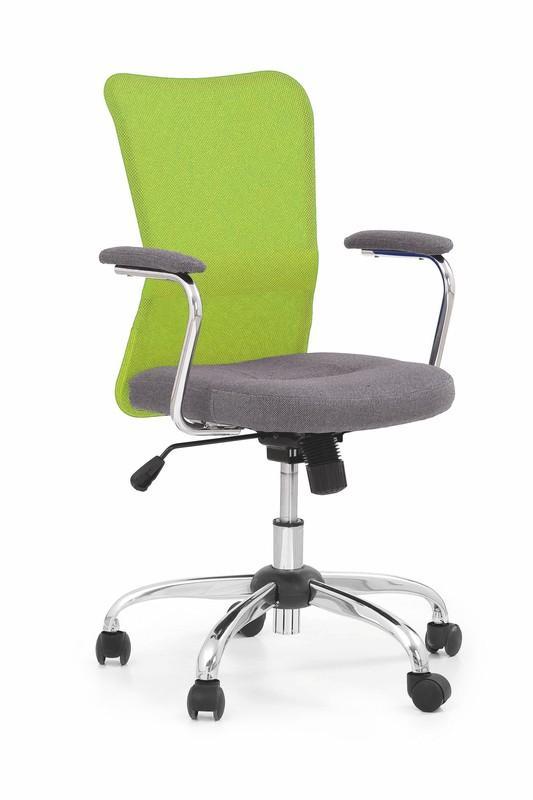 Kancelárska stolička Andy Halmar modro-šedá