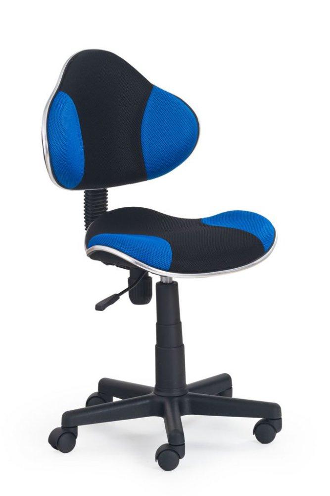 Halmar Detská stolička Flash oranžovo-černá