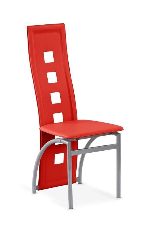 Kovová stolička K4 Halmar červená