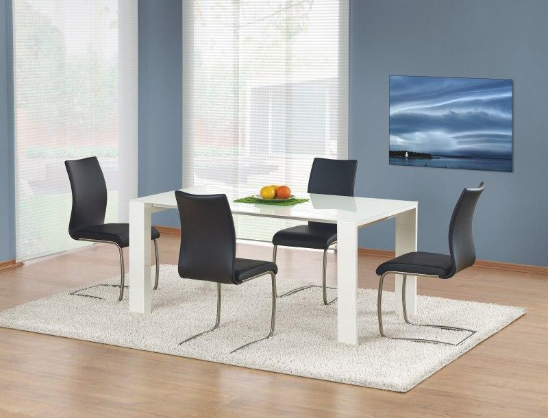 Sklenený jedálenský stôl Jonas Halmar
