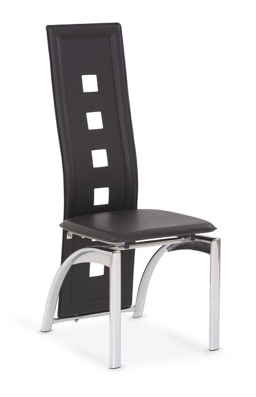 Kovová stolička K4 Halmar černá