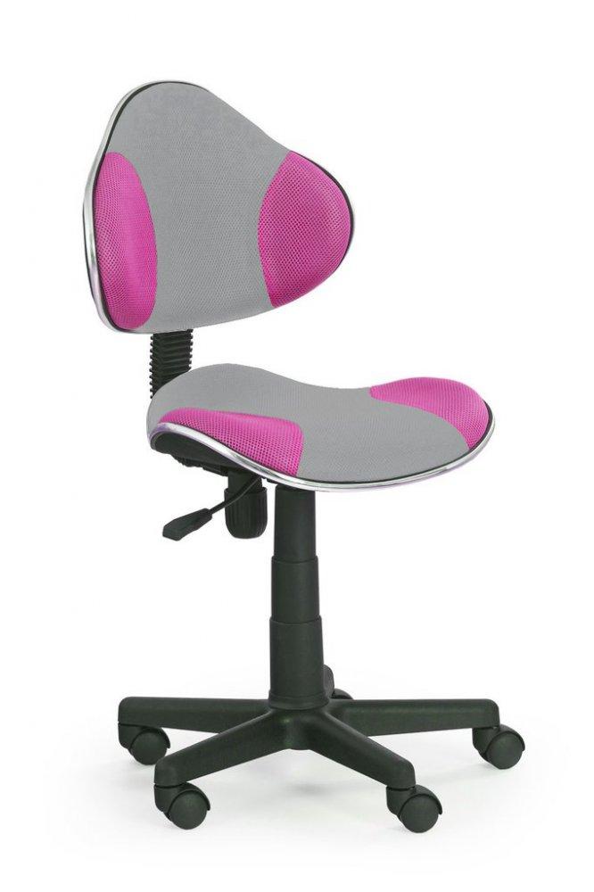 Halmar Detská stolička Flash 2 oranžovo-šedá
