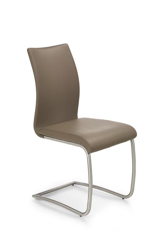 Kovová stolička K181 Halmar béžová