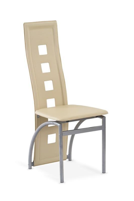 Kovová stolička K4 M Halmar krémová