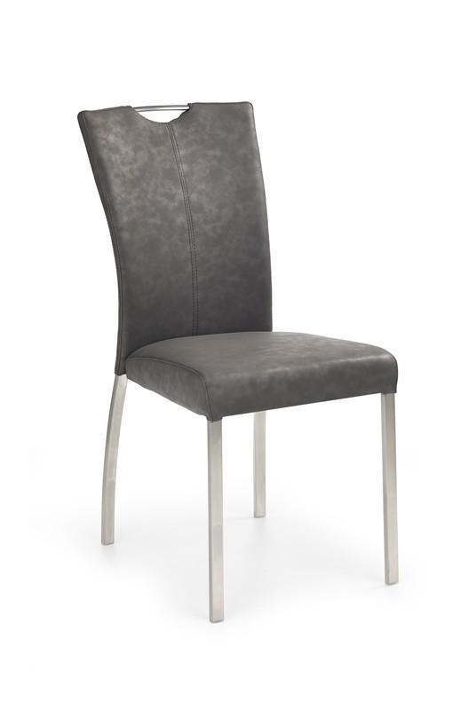 Kovová stolička K178 Halmar béžová