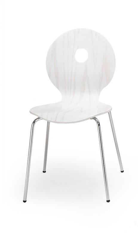 Jedálenská stolička K233 biela Halmar