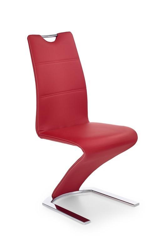 Kovová stolička K188 Halmar černá