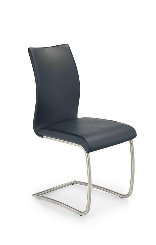 Kovová stolička K181 Halmar černá